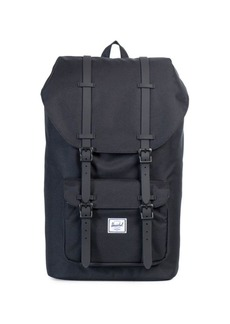 Herschel Supply Co. Little America Leather and Canvas Blend Backpack
