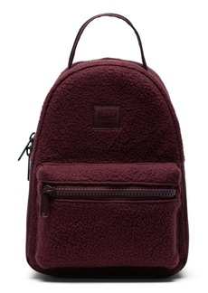 Herschel Supply Co. Mini Nova Fleece Backpack
