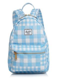 Herschel Supply Co. Nova Small Check Print Backpack