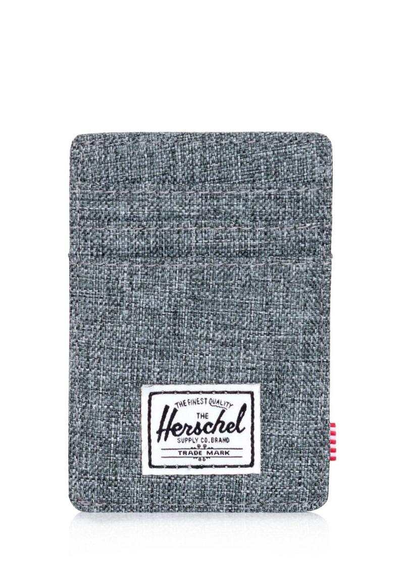 Herschel Supply Co. Raven Money Clip Card Case