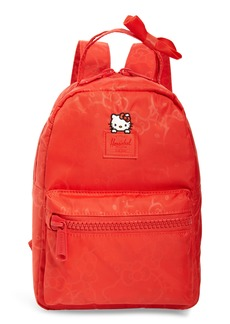 Herschel Supply Co. x Hello Kitty Mini Nova Red Backpack