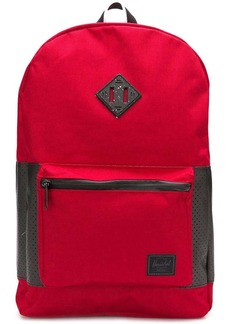 Herschel Supply Co. logo patch backpack