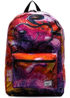 Herschel Supply Co. multicolour Snoopy galaxy print backpack