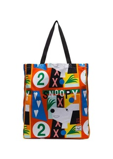 Herschel Supply Co. multicoloured graphic print canvas tote bag
