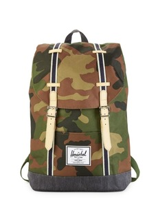 Herschel Supply Co. Offset Retreat Camouflage-Print Backpack