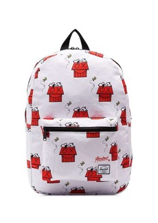 Herschel Supply Co. white Snoopy Skate Backpack