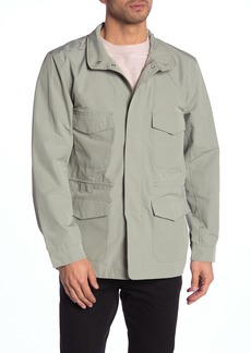 Herschel Supply Co. Solid Water Resistant Zip Front Field Jacket