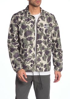 Herschel Supply Co. Voyage Camo Logo Packable Coach Jacket