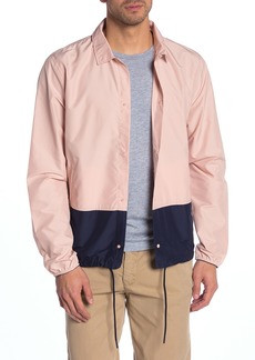 Herschel Supply Co. Voyage Colorblock Packable Coach Jacket