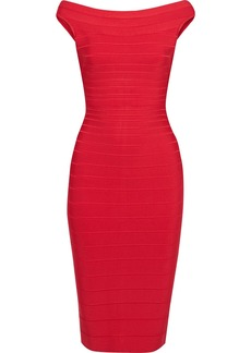 Herve Leger Hervé Léger Woman Bandage Dress Papaya