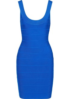 Herve Leger Hervé Léger Woman Bandage Mini Dress Bright Blue
