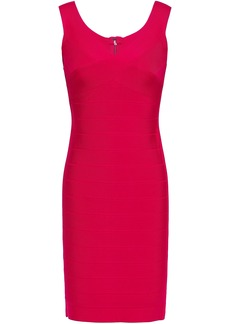 Herve Leger Hervé Léger Woman Bandage Mini Dress Red