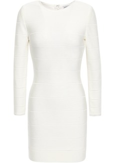 Herve Leger Hervé Léger Woman Bandage Mini Dress Ivory