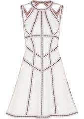 Herve Leger Hervé Léger Woman Cutout Bandage Mini Dress White