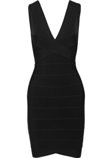 Herve Leger Hervé Léger Woman Lauren Bandage Mini Dress Black
