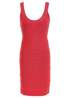 Herve Leger Hervé Léger Woman Sydney Open-back Bandage Mini Dress Tomato Red