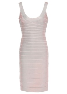 Herve Leger Hervé Léger Woman Sydney Open-back Bandage Mini Dress Pastel Pink