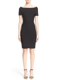 Herve Leger 'Carmen' Off the Shoulder Bandage Dress