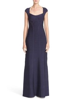 Herve Leger 'Catarina' Mermaid Bandage Gown