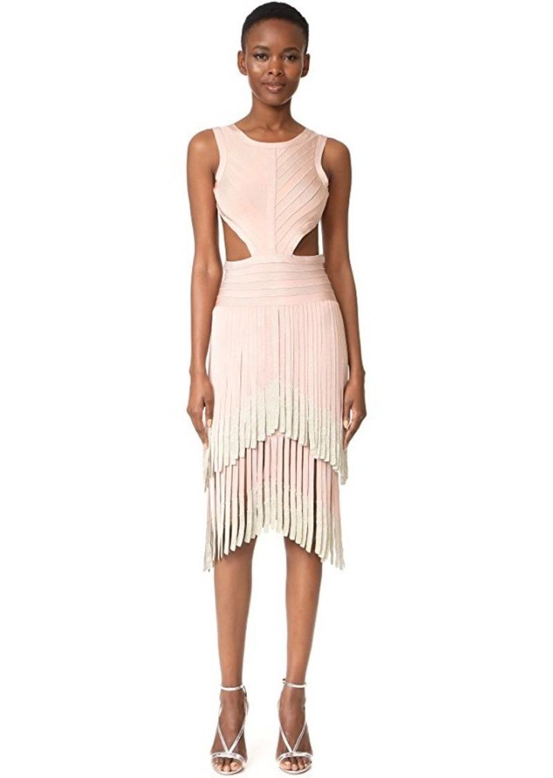 Fringe Sleeveless Dress