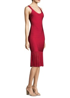 Herve Leger Knit Bandage Dress
