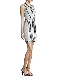 Herve Leger Knit Cocktail Dress