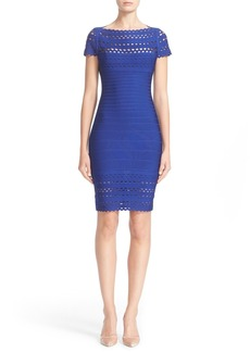 Herve Leger Laser Cut Bandage Dress