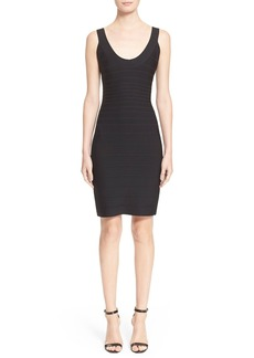 Herve Leger 'Sydney' U-Neck Bandage Dress