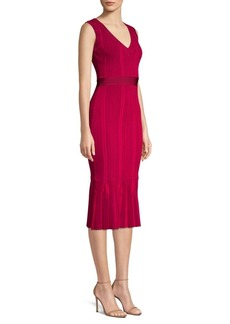 Herve Leger Knit Midi Dress