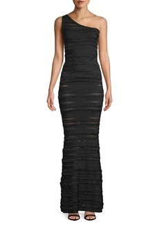 Herve Leger Textured Cut-Out Bodycon Dress