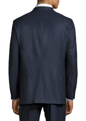 Hickey Freeman Classic-Fit Two-Button Suit  Blue