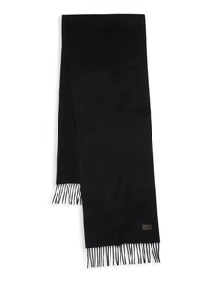 Hickey Freeman Fringed Cashmere Scarf
