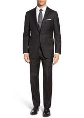 Hickey Freeman Hamilton Classic Fit Stripe Wool Suit