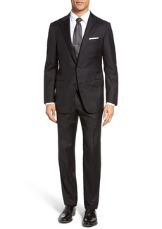 Hickey Freeman Hamilton Classic Fit Stripe Wool Suit