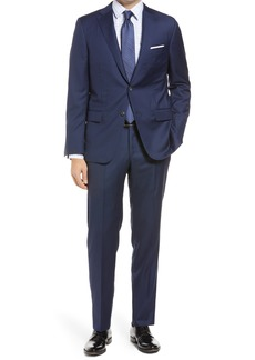 Hickey Freeman Beacon B Series Classic Fit Wool Suit