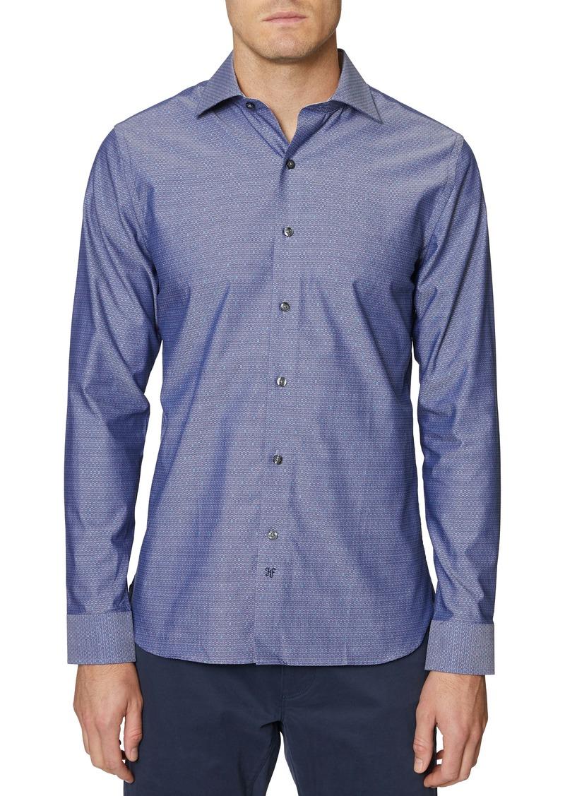 Hickey Freeman Bleecker Button-Up Shirt
