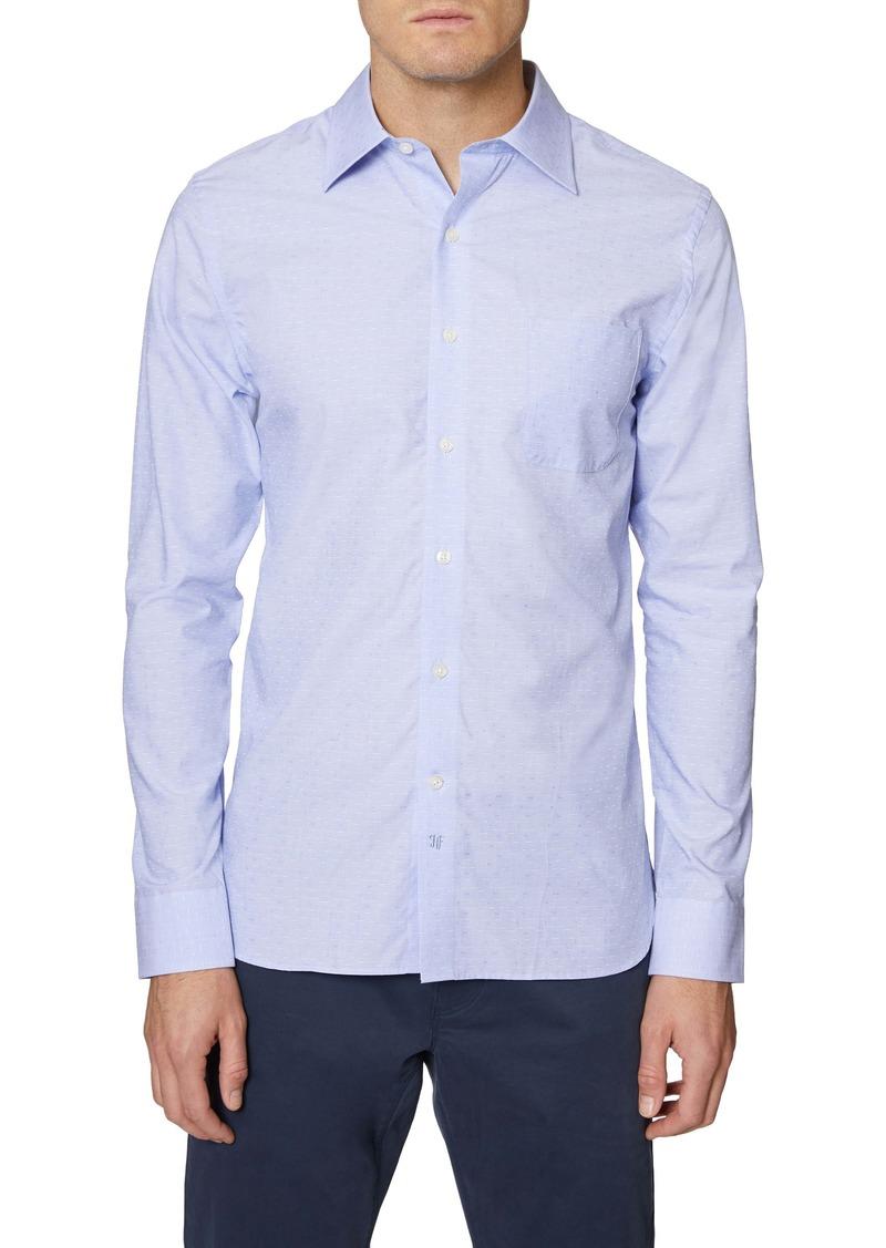 Hickey Freeman Bleeker Regular Fit Button-Up Shirt