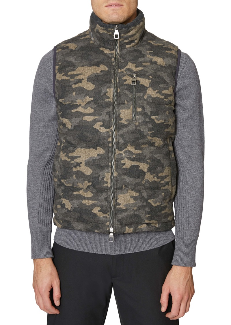 Hickey Freeman Camo Quilted Vest