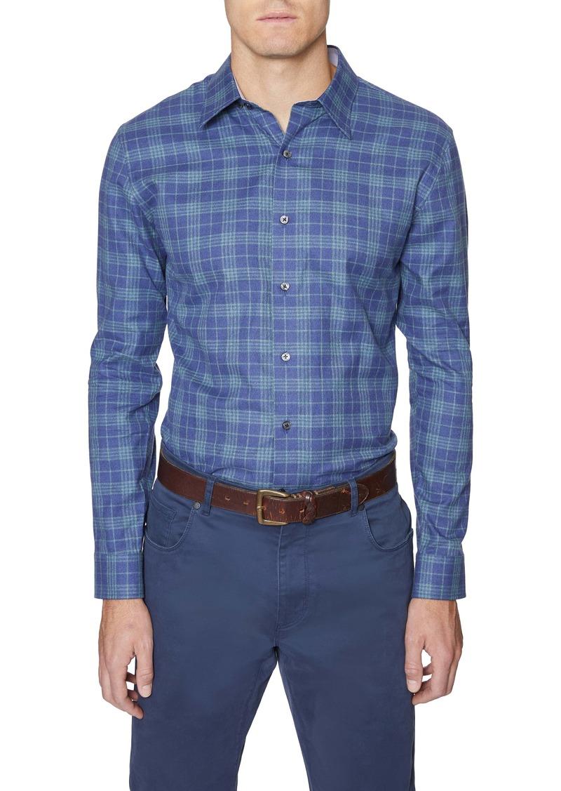 Hickey Freeman Christopher Plaid Button-Up Shirt