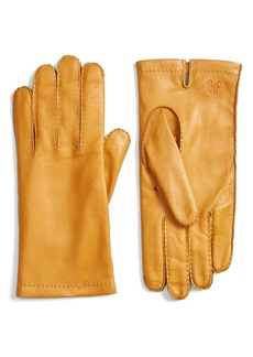 Hickey Freeman Classic Contrast Leather Gloves