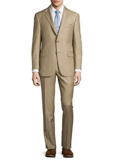 Hickey Freeman Classic-Fit Lindsey Two-Piece Sharkskin Suit