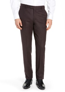Hickey Freeman Classic Fit Solid Trousers