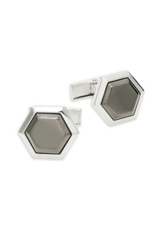 Hickey Freeman Hexagon Cufflinks