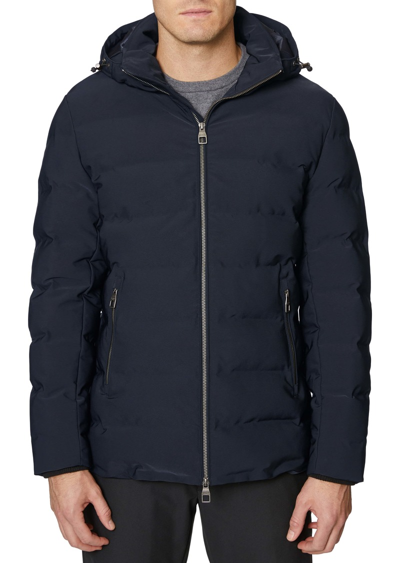 Hickey Freeman Hooded Seam Sealed Jacket