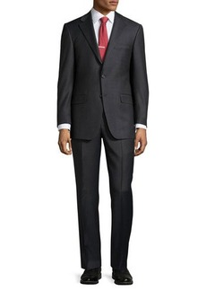 Hickey Freeman Classic-Fit Lindsey Mini-Check Two-Piece Suit
