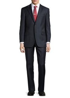 Hickey Freeman Classic-Fit Lindsey Small-Stripe Two-Piece Suit