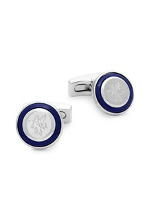 Hickey Freeman Logo Round Cufflinks
