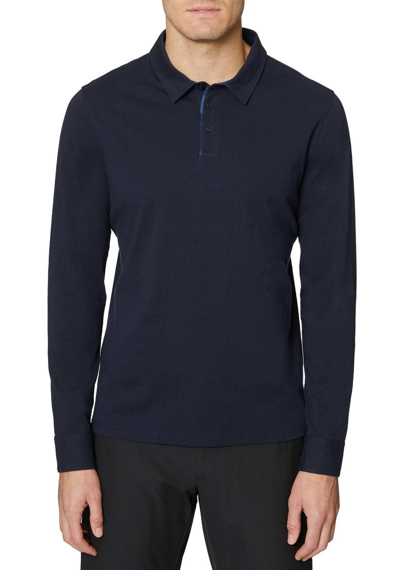 Hickey Freeman Long Sleeve Polo