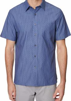 Hickey Freeman Men's Jacquard Barclay Shirt