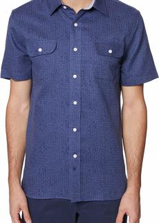 Hickey Freeman Men's Jacquard Bond Shirt